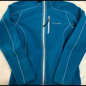 Ladies Columbia fleece lined jacket